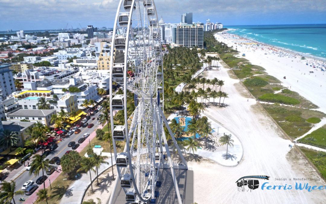 Miami – Grande Roue pour les destinations touristiques