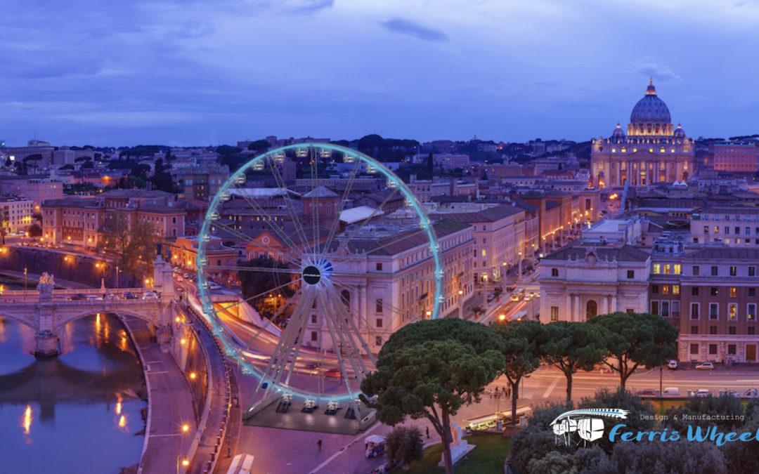 Rome – Ferris Wheels for Historical Cities